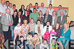 PARTY: Danny Blake, Ballybunion (seated centre), celebrated his 21st birthday with family and friends in the.Store Bar, Asdee, on Sunday evening.