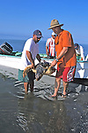 Rodrigo & J. With Loggerhead Sea Turtle