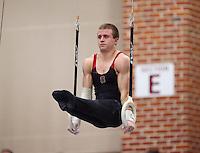 Stanford, CA; Saturday March 2, 2013: Men's Gymnastics, Collegiate Challenge.