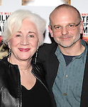 Olympia Dukakis & Director Michael Wilson.attending the After Party for the Off-Broadway Roundabout Theatre Company Production of  'The Milk Train Doesn't Stop Here Anymore' at the Laura Pels Theatre in New York City..