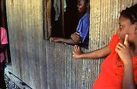 COLOMBIA - Buenaventura Villaggio abitanti di colore discendenti degli schiavi