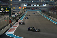 1st December 2019; Yas Marina Circuit, Abu Dhabi, United Arab Emirates; Formula 1 Abu Dhabi Grand Prix, race day; Mercedes AMG Petronas Motorsport, Valtteri Bottas - Editorial Use