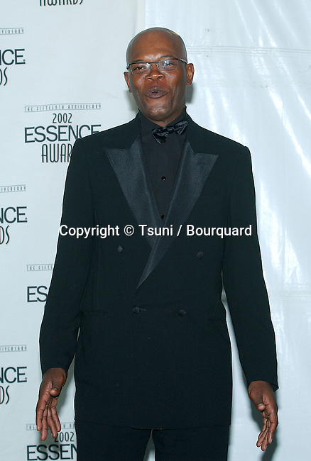 Samuel Jackson backstage at the 15th  Anniversary Essence Awards at the Universal Amphitheatre in Los Angeles. May 31, 2002.           -            JacksonSamuel10A.jpg
