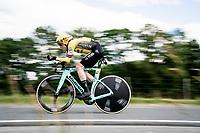 Steven Kruijswijk (NED/Jumbo-Visma)<br /> <br /> Stage 4 (ITT): Roanne to Roanne (26.1km)<br /> 71st Critérium du Dauphiné 2019 (2.UWT)<br /> <br /> ©kramon