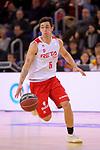 League ACB-ENDESA 2017/2018 - Game: 20.<br /> FC Barcelona Lassa vs Retabet Bilbao Basket: 90-58.<br /> Ricardo Fisher.