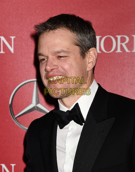 PALM SPRINGS, CA - JANUARY 02: Actor Matt Damon attends the 27th Annual Palm Springs International Film Festival Awards Gala at Palm Springs Convention Center on January 2, 2016 in Palm Springs, California.<br /> CAP/ROT/TM<br /> &copy;TM/ROT/Capital Pictures