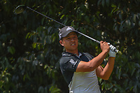 Xander Schauffele (USA) watches his tee shot on 2 during round 3 of the World Golf Championships, Mexico, Club De Golf Chapultepec, Mexico City, Mexico. 3/3/2018.<br /> Picture: Golffile | Ken Murray<br /> <br /> <br /> All photo usage must carry mandatory copyright credit (&copy; Golffile | Ken Murray)