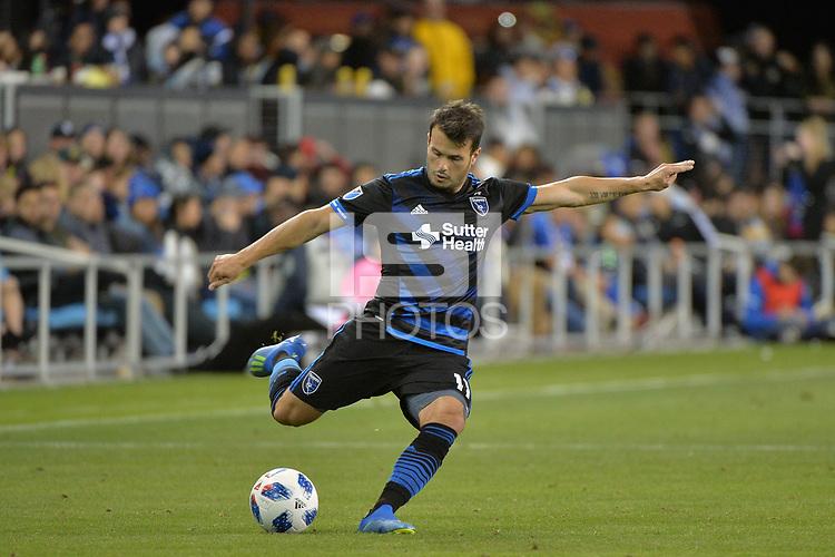 San Jose, CA - Saturday June 09, 2018: Vako during a Major League Soccer (MLS) match between the San Jose Earthquakes and Los Angeles Football Club at Avaya Stadium.