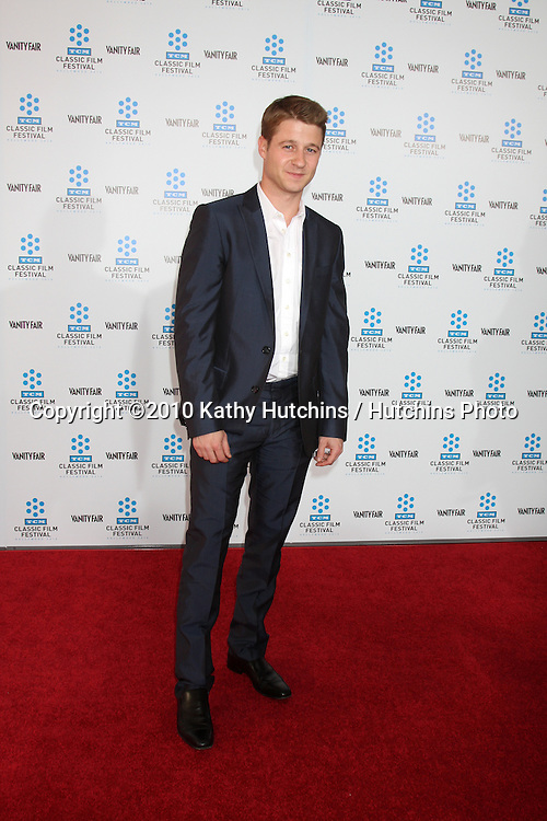 """.Benjamin McKenzie.arrives at the """"A Star is Born"""" Restored Print World Premiere , part of the Turner Classic Movie Channel Classic Movie Festival.Grauman'S Chinese.Los Angeles, CA.April 22, 2010.©2010 Kathy Hutchins / Hutchins Photo..."""