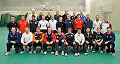 Coaches and their students attending the European ECB Level 3 Coaching Course 2011 at the Scotland National Cricket Academy, Edinburgh, hosted for the first by Cricket Scotland. Nineteen coaches from all over Europe, including six from Scotland, are at the Mary Erskine Cricket Centre for a week, under the auspices of the Pepsi ICC Development Programme, to be taken through coaching routines as part of their education programme leading the ECB Level 3 Qualification exams later in this year - Picture by Donald MacLeod 06.01.11 - mobile 07702 319 738 - clanmacleod@btinternet.com