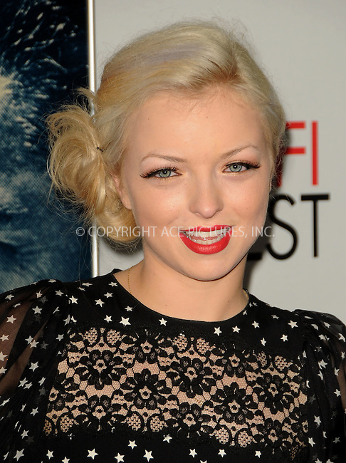 WWW.ACEPIXS.COM . . . . .  ....November 3 2011, LA....Francesca Fisher- Eastwood arriving at the AFI FEST 2011 Presented By Audi - 'J. Edgar' Opening Night Gala at Grauman's Chinese Theatre on November 3, 2011 in Hollywood, California.....Please byline: PETER WEST - ACE PICTURES.... *** ***..Ace Pictures, Inc:  ..Philip Vaughan (212) 243-8787 or (646) 679 0430..e-mail: info@acepixs.com..web: http://www.acepixs.com