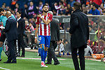 Yannick Ferreira Carrasco of Atletico de Madrid during the match of La Liga between Atletico de Madrid and Villarreal at Vicente Calderon  Stadium  in Madrid, Spain. April 25, 2017. (ALTERPHOTOS/Rodrigo Jimenez)