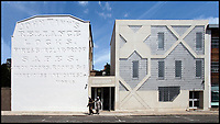BNPS.co.uk (01202 558833)<br /> Pic: HistoricEngland/BNPS<br /> <br /> The books author Shahed Saleem designed the very modern Shahporan Masjid in Hackney.<br /> <br /> A new book from Historic England reveals the spread of Mosque building across Britain.<br /> <br /> The book provide a fascinating insight into the diversity of Britain's 1,500 mosques.<br /> <br /> They range from humble house conversions where small groups gather to magnificent purpose-built complexes which can accommodate thousands of worshippers.<br /> <br /> Architect Shahed Saleem, who has designed a mosque in Hackney, east London, has produced the first comprehensive overview of Islamic architecture on these shores in his new book, The British Mosque.