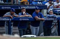 Julio Urias.<br /> Baseball action during the Los Angeles Dodgers game against San Diego Padres, the second game of the Major League Baseball Series in Mexico, held at the Sultans Stadium in Monterrey, Mexico on Saturday, May 5, 2018 .<br /> (Photo: Luis Gutierrez)<br /> <br /> Acciones del partido de beisbol, durante el encuentro Dodgers de Los Angeles contra Padres de San Diego, segundo juego de la Serie en Mexico de las Ligas Mayores del Beisbol, realizado en el estadio de los Sultanes de Monterrey, Mexico el sabado 5 de Mayo 2018.<br /> (Photo: Luis Gutierrez)