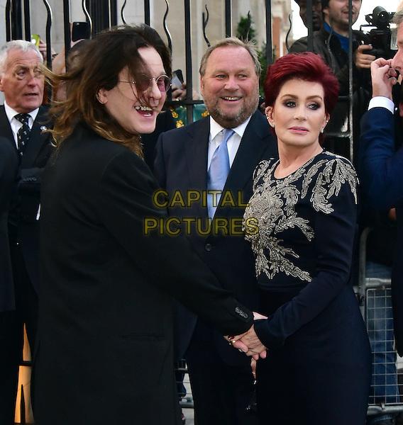 LONDON, ENGLAND - SEPTEMBER 28: Ozzy Osbourne, Sharon Osbourne attends the Pride of Britain awards at The Grosvenor House Hotel on September 28, 2015 in London, England.<br /> CAP/JOR<br /> &copy;JOR/Capital Pictures