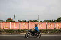 Journalist Jesus Olivares responds to an emergency call believed to be a car accident, but what turned out to be a grass fire, on June 29, 2016 in Veracruz, Mexico. <br /> Photo Daniel Berehulak for the New York Times
