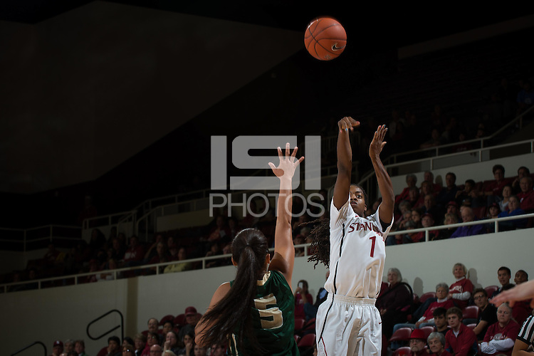 STANFORD, CA - The Stanford Cardinal defeats the visiting Cal Poly Mustangs at Maples Pavilion on Friday, November 15, 2013.