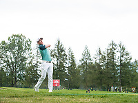 Grant Forrest (SCO) in action on the 3th hole during final round at the Omega European Masters, Golf Club Crans-sur-Sierre, Crans-Montana, Valais, Switzerland. 01/09/19.<br /> Picture Stefano DiMaria / Golffile.ie<br /> <br /> All photo usage must carry mandatory copyright credit (© Golffile | Stefano DiMaria)