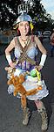 Raya Papaya at the 2010 Art Car Ball at the Orange Show Monument & Warehouse Thursday May 06,2010.  (Dave Rossman Photo)