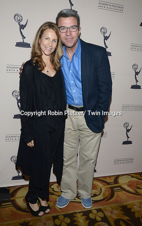 Vicki and John J York attends the Academy Of Television Arts & Science Daytime Programming  Peer Group Celebration for the 40th Annual Daytime Emmy Awards Nominees party on June 13, 2013 at the Montage  Hills in Beverly Hills, California.