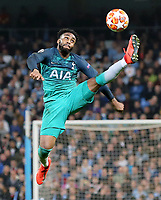 Tottenham Hotspur's Danny Rose controls<br /> <br /> Photographer Rich Linley/CameraSport<br /> <br /> UEFA Champions League to3- Quarter-finals 2nd Leg - Manchester City v Tottenham Hotspur - Wednesday April 17th 2019 - The Etihad - Manchester<br />  <br /> World Copyright © 2018 CameraSport. All rights reserved. 43 Linden Ave. Countesthorpe. Leicester. England. LE8 5PG - Tel: +44 (0) 116 277 4147 - admin@camerasport.com - www.camerasport.com