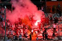 11th March 2020; Estadio Monumental David Arellano; Santiago, Chile; Copa Libertadores, Colo Colo versus Athletico Paranaense; Supporters of Colo-Colo