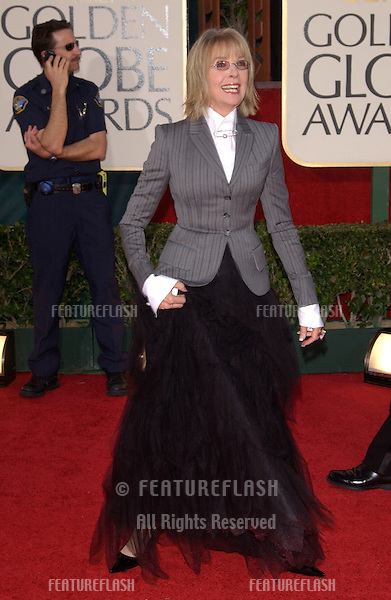Jan 16, 2005; Beverly Hills, CA: DIANE KEATON at the 62nd Annual Golden Globe Awards at the Beverly Hilton Hotel..
