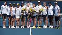 Cal Tennis W vs WSU, April 15, 2017