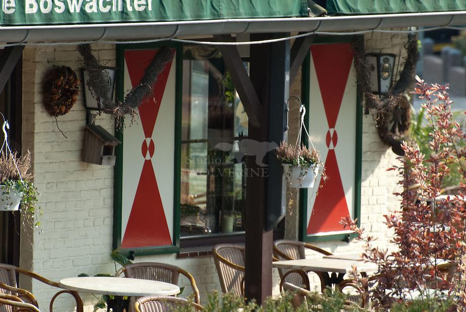 Terras de boswachter, Slenaken - Limburg