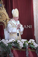 Easter Mass, Urbi et Orbi, Pope Benedict XVI at the Vatican, 24 April 2011