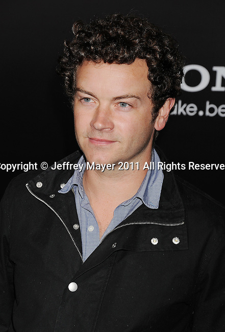 "WESTWOOD, CA - MARCH 08: Danny Masterson  arrives to the ""Battle: Los Angeles"" Los Angeles Premiere at the  Regency Village Theatre on March 8, 2011 in Westwood, California."