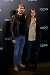 Clara Mendez-Leite, Alberto Ammann attends to IQOS3 presentation at Palacio de Cibeles in Madrid, Spain. February 13, 2019. (ALTERPHOTOS/A. Perez Meca)