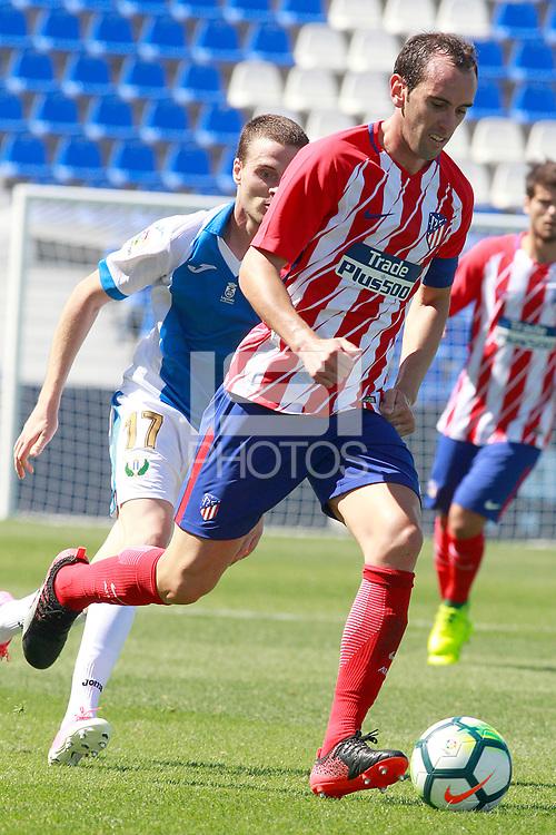 Atletico de Madrid's Diego Godin during friendly match. August 12,2017.  *** Local Caption *** &copy; pixathlon<br /> Contact: +49-40-22 63 02 60 , info@pixathlon.de