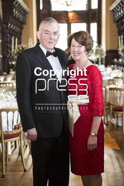 "Pictured at the UL President Gala Dinner were UL President Don Barry & his Wife Anna Ryan . Paul Brady Performs at UL's 10th Annual President's Gala Dinner University of Limerick President's Gala Dinner Celebrates ""UL 40 In excess of 200 guests turned out in support of the 10th Annual University of Limerick President's Gala Dinner which was held in Adare Manor on 17th May.A special performance was given by renowned singer, songwriter and multi-instrumentalist, Paul Brady at the event, which raised funds to support the Paul Brady Scholarships for the Blas summer school in UL. First launched in March 2010, the Paul Brady Blas Scholarships at the Irish World Academy of Music and Dance in UL provide places for deserving musicians who benefit from master classes and tuition from some of Ireland's most respected traditional musicians and dancers. Speaking at the event, UL President Don Barry said: ""It is very gratifying that one of Ireland's biggest music legends, Paul Brady, has chosen UL to host his very own music scholarships - and that he has chosen to perform at this UL event, where we are celebrating ULŒs 40th anniversary, makes it all the more special Pictured Credit Brian Gavin Press 22"