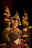 Apsara dancers at Siem Reap, Cambodia