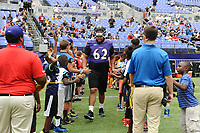 "Ravens last open practice Saturday morning was also their first ""Bring your dog to the Park"" type event at M&T Bank Stadium in Baltimore."