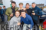 Owen Gunn, Robert Byrne, Cormac Long, Ethan McGrath, Ciaran Fitzgerald and Neill O'Sullivan enjoying the Cheltenham Gold Cup day on Friday in the Castle Bar..