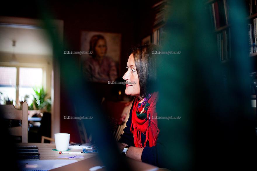 Oslo, Norge, 19.09.2012. Rønnaug Kleiva er aktuell med ny bok. Foto: Christopher Olssøn.