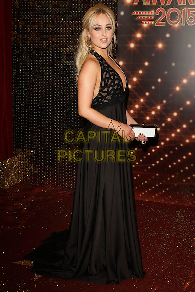 MANCHESTER, ENGLAND - MAY 16: Jorgie Porter attends the British Soap Awards 2015, The Palace Hotel, Oxford Street, on Saturday May 16, 2015 in Manchester, England, UK. <br /> CAP/ROS<br /> &copy;Steve Ross/Capital Pictures