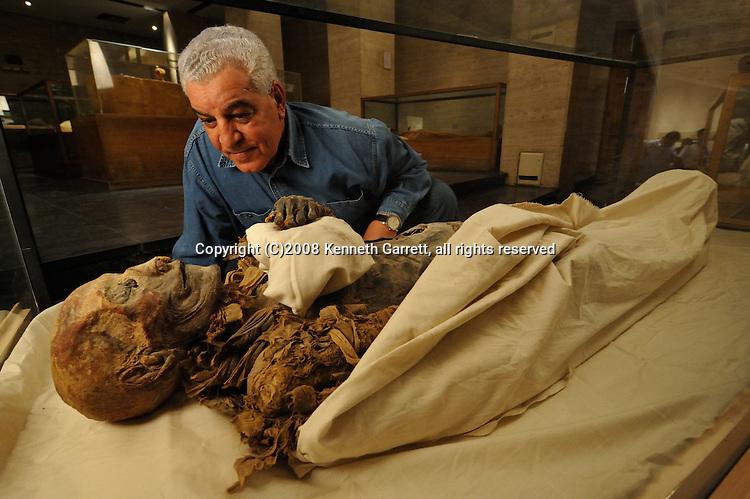 Hatshepsut; Egypt; Egyptian Museum; Hatshepsut Mummy; Dr. Zahi Hawass; New Kingdom; 18th dynasty