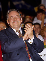 Montreal (QC) CANADA, October  1995 - File Photo -<br />