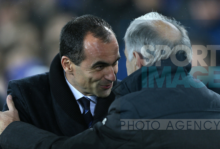 Roberto Martinez manager of Everton - UEFA Europa League - Everton vs  Lille - Goodison Park Stadium - Liverpool - England - 6th November 2014 - Pic Simon Bellis/Sportimage