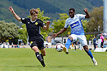 NELSON, NEW ZEALAND November 18: Handa Premiership - Tasman Utd v Welllington Phoenix. Trafalgar Park, Nelson, New Zealand. Sunday 18 November 2018(Photos by: Barry Whitnall Photography