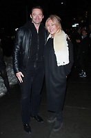 NEW YORK, NY - JANUARY 11: Hugh Jackman, Deborra-Lee Furness arriving at the IFC Films premiere of Freak Show at the Landmark Sunshine Cinema in New York City on January 10, 2018. <br /> CAP/MPI/RW<br /> &copy;RW/MPI/Capital Pictures