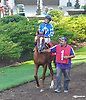 Patrick Rocks before The Strike Your Colors Stakes at Delaware Park on 8/5/15