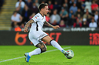 Barrie McKay of Swansea City in action during the Carabao Cup Second Round match between Swansea City and Cambridge United at the Liberty Stadium in Swansea, Wales, UK. Wednesday 28, August 2019.