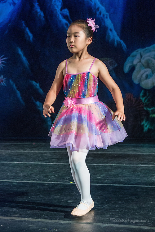 "Tuesday Dress Rehearsal for ""A Mermaid's Dream"", the 2015 Annual Recital by the Cary Ballet Conservatory."