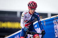 Picture by Alex Whitehead/SWpix.com - 03/02/2018 - Cycling - 2018 UCI Cyclo-Cross World Championships - Valkenburg, The Netherlands - Great Britain's Anna Kay competes in the Women's U23 race.