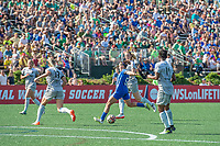 Boston, MA - Saturday June 24, 2017: Amanda DaCosta during a regular season National Women's Soccer League (NWSL) match between the Boston Breakers and the North Carolina Courage at Jordan Field.