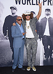 Berry Gordy and Stefan Gordy aka Red Foo attends The Universal Pictures' STRAIGHT OUTTA COMPTON World Premiere held at The Microsoft Theatre  in Los Angeles, California on August 10,2015                                                                               © 2015 Hollywood Press Agency